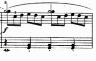 ツェルニー(チェルニー)「30番練習曲第1番ハ長調Op.849-1」ピアノ楽譜3
