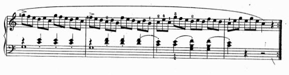 ツェルニー(チェルニー)「30番練習曲第1番ハ長調Op.849-1」ピアノ楽譜6