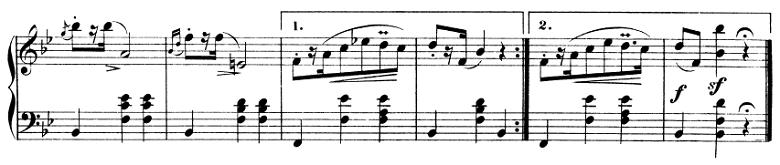 ショパン「マズルカ第5番変ロ長調Op.7-1」ピアノ楽譜4