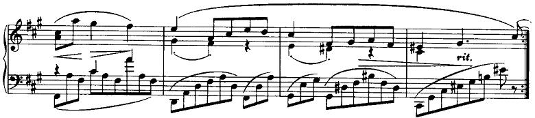 ブラームス「ピアノのための6つの小品第2曲「間奏曲」イ長調Op.118-2」ピアノ楽譜6