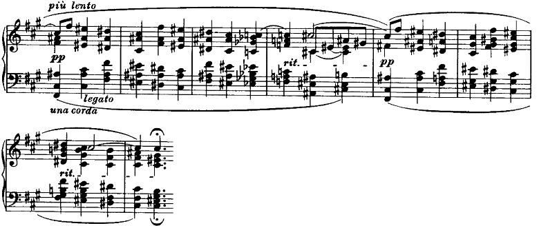 ブラームス「ピアノのための6つの小品第2曲「間奏曲」イ長調Op.118-2」ピアノ楽譜7