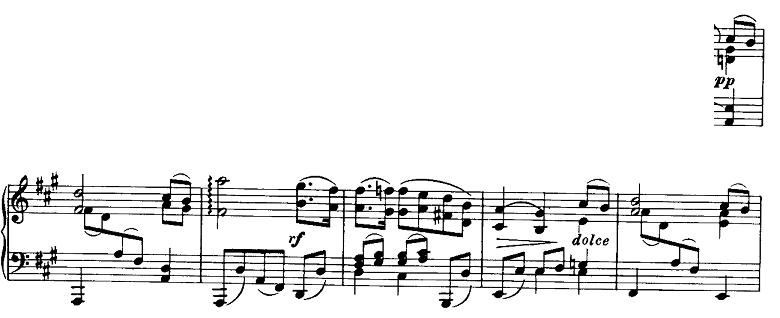 ブラームス「ピアノのための6つの小品第2曲「間奏曲」イ長調Op.118-2」ピアノ楽譜9