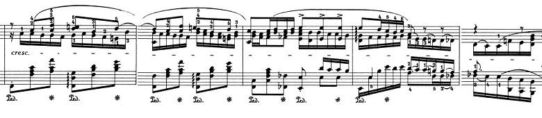 ショパン「バラード第4番ヘ短調Op.52」ピアノ楽譜5