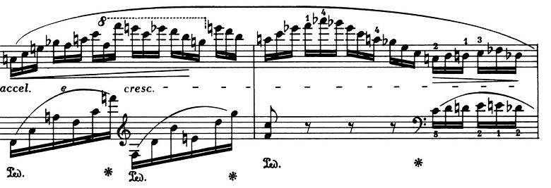 ショパン「バラード第4番ヘ短調Op.52」ピアノ楽譜13