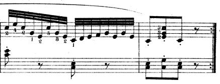 ツェルニー「30番練習曲第8番ハ長調Op.849-8」ピアノ楽譜4