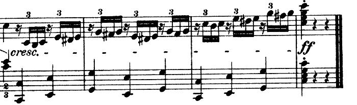 モーツァルト「きらきら星変奏曲」ハ長調K.265 ピアノ楽譜15