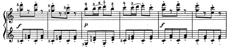 テオドール・エステン「子供の情景」第4曲「人形の夢と目覚め」ハ長調Op.202-4 ピアノ楽譜9