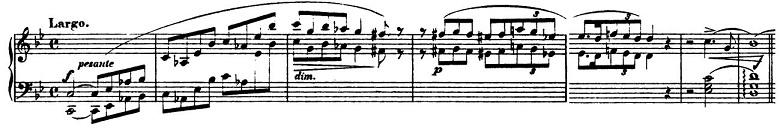 ショパン「バラード第1番ト短調作品23」ピアノ楽譜1
