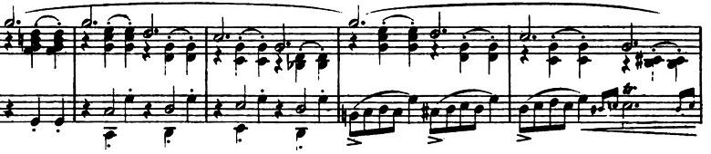 ショパン「バラード第1番ト短調作品23」ピアノ楽譜3