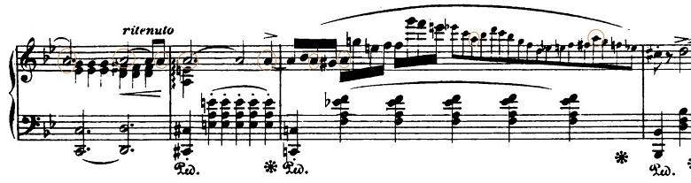 ショパン「バラード第1番ト短調作品23」ピアノ楽譜5