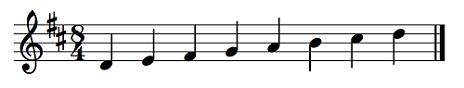メンデルスゾーン交響曲第5番「宗教改革」ニ長調(ニ短調)Op.107楽譜1
