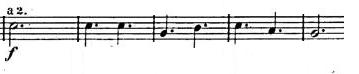メンデルスゾーン交響曲第5番「宗教改革」ニ長調(ニ短調)Op.107楽譜3