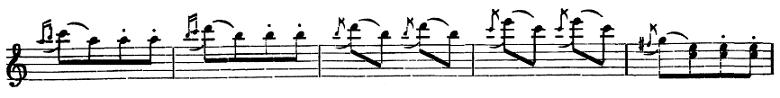 ベートーヴェン「トルコ行進曲」ピアノ楽譜3