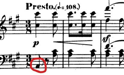 シューマン「「パピヨン(蝶々)」Op.2」ピアノ楽譜4