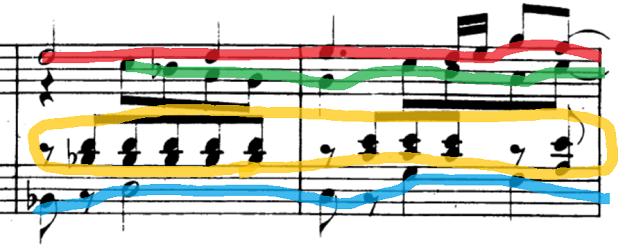 シューマン「「パピヨン(蝶々)」Op.2」ピアノ楽譜5