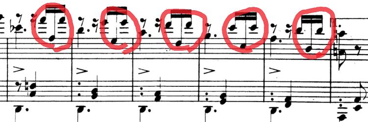 シューマン「「パピヨン(蝶々)」Op.2」ピアノ楽譜6
