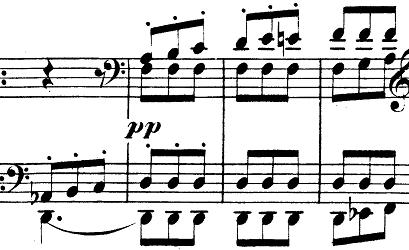シューマン「「パピヨン(蝶々)」Op.2」ピアノ楽譜7