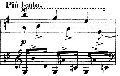 シューマン「「パピヨン(蝶々)」Op.2」ピアノ楽譜9