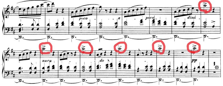 シューマン「「パピヨン(蝶々)」Op.2」ピアノ楽譜10