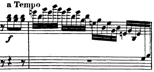 ベートーヴェン「ピアノソナタ第23番「熱情」ヘ短調Op.57第1楽章」ピアノ楽譜2