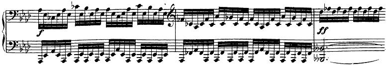 ベートーヴェン「ピアノソナタ第23番「熱情」ヘ短調Op.57第1楽章」ピアノ楽譜4