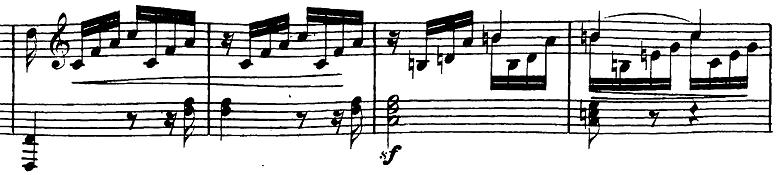 ベートーヴェン「ピアノソナタ第23番「熱情」ヘ短調Op.57第3楽章」ピアノ楽譜2
