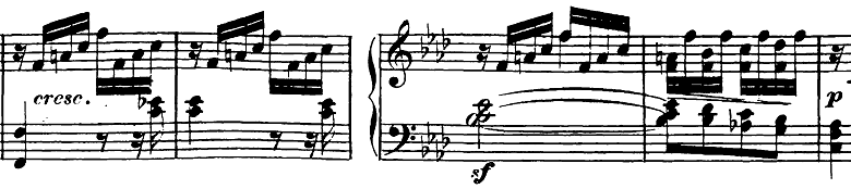 ベートーヴェン「ピアノソナタ第23番「熱情」ヘ短調Op.57第3楽章」ピアノ楽譜4