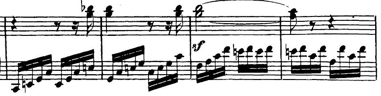 ベートーヴェン「ピアノソナタ第23番「熱情」ヘ短調Op.57第3楽章」ピアノ楽譜6