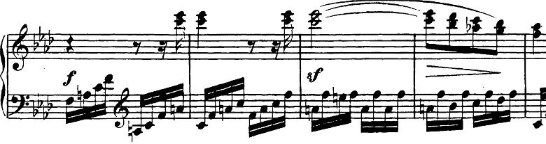 ベートーヴェン「ピアノソナタ第23番「熱情」ヘ短調Op.57第3楽章」ピアノ楽譜7