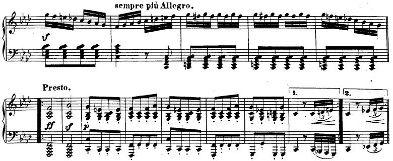 ベートーヴェン「ピアノソナタ第23番「熱情」ヘ短調Op.57第3楽章」ピアノ楽譜9