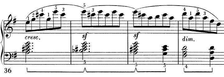 ベートーヴェン「ピアノソナタ第25番ト長調作品79第1楽章」ピアノ楽譜3