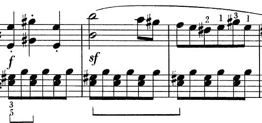 ベートーヴェン「ピアノソナタ第25番ト長調作品79第1楽章」ピアノ楽譜4