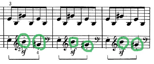 ベートーヴェン「ピアノソナタ第25番ト長調作品79第1楽章」ピアノ楽譜5
