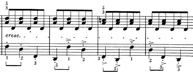 ベートーヴェン「ピアノソナタ第25番ト長調作品79第1楽章」ピアノ楽譜6
