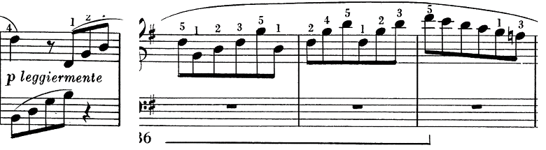 ベートーヴェン「ピアノソナタ第25番ト長調作品79第1楽章」ピアノ楽譜8
