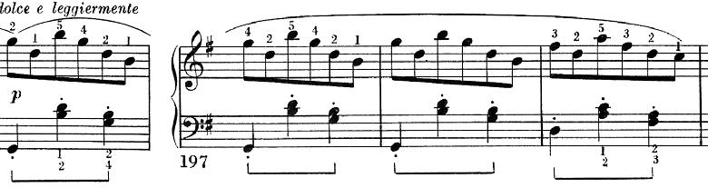ベートーヴェン「ピアノソナタ第25番ト長調作品79第1楽章」ピアノ楽譜9