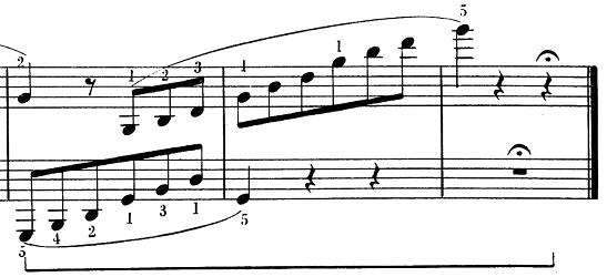 ベートーヴェン「ピアノソナタ第25番ト長調作品79第1楽章」ピアノ楽譜10