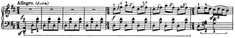 バルトーク「ルーマニア民族舞曲第5曲「ルーマニア風ポルカ」ニ調」ピアノ楽譜
