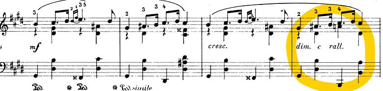 ショパン「「アルバムの一葉(アルバムの綴り、モデラート)」ホ長調KK.IVb/12,CT.107,B.151」ピアノ楽譜3
