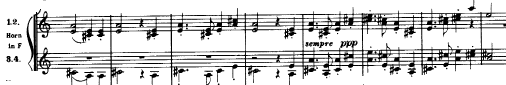マーラー「交響曲第1番(巨人)ニ長調」オーケストラ楽譜3