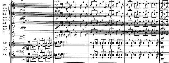 マーラー「交響曲第1番(巨人)ニ長調」オーケストラ楽譜4