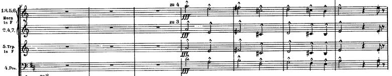 マーラー「交響曲第1番(巨人)ニ長調」オーケストラ楽譜7