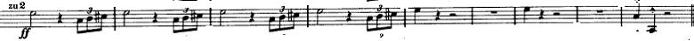 マーラー「交響曲第1番(巨人)ニ長調」オーケストラ楽譜8