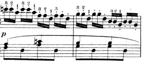 ツェルニー「30番練習曲第12番ト長調Op.849-12」ピアノ楽譜4