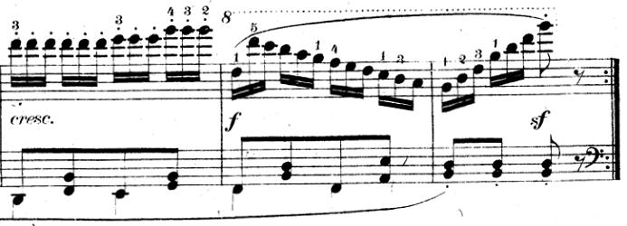 ツェルニー「30番練習曲第12番ト長調Op.849-12」ピアノ楽譜5