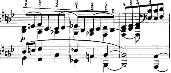 シューマン「ノヴェレッテン第5番ニ長調Op.21-5」ピアノ楽譜3