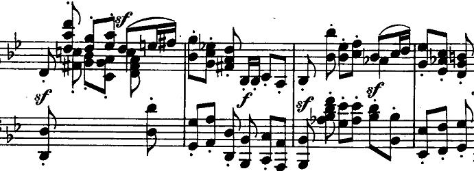 シューマン「ノヴェレッテン第5番ニ長調Op.21-5」ピアノ楽譜4