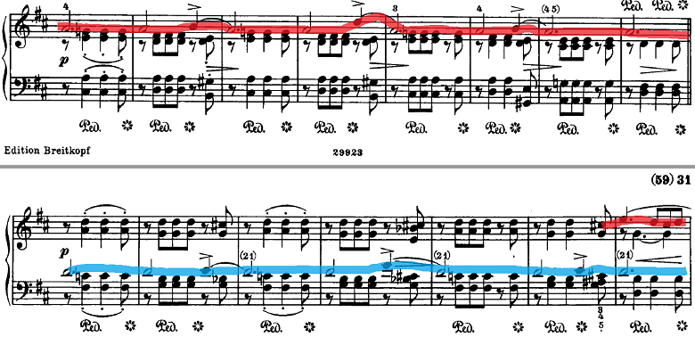 シューマン「ノヴェレッテン第5番ニ長調Op.21-5」ピアノ楽譜6