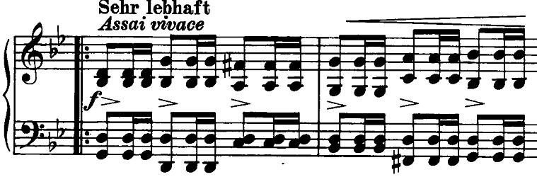 シューマン「ノヴェレッテン第5番ニ長調Op.21-5」ピアノ楽譜8