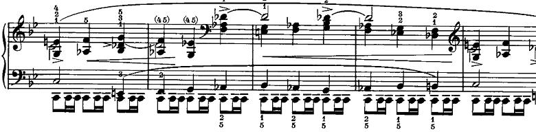 シューマン「ノヴェレッテン第5番ニ長調Op.21-5」ピアノ楽譜9